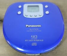 Panasonic Portable CD Player 40 Sec Anti ShockSL-CT470 Tested and Works well! G1