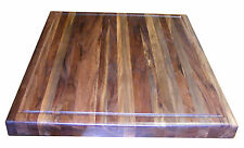 Walnut Butcher Block 20 x 18 x 1.5 inches New Made In USA by Steve's Gift Shoppe