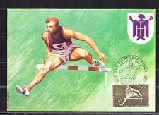 carte  1er jour  jeux olympiques  Munich    Paris   1972