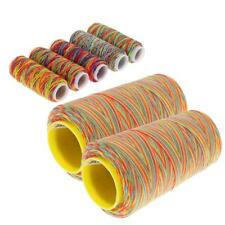 7Pcs Sewing Machine Threads Cones Overlocking String Polyester Multicolor