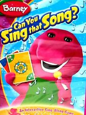 Barney - Can You Sing That Song? DVD SING ALONG GAME CHILDRENS 50 MINS SEALED