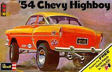 Revell 1954 Chevy Highboy Gasser Drag Car 1/25 Sticker or Magnet