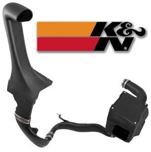 K&N 63 Series Air Intake System w/ Snorkel for 07-11 Jeep Wrangler JK 3.8L V6