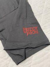 Rare Freddy Vs Jason 2003 Horror Movie Promo Gray T-shirt Sz Xl Best Price!