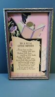 1920's Art Deco Print with Original Frame- Mother's Day Gift