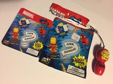 "MARVEL Comics GRAB ZAGS ""Surprise"" Bag Iron man Mini pen  **RARE**"