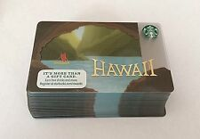 2016 Starbucks City Hawaii Cards - Lot of 25