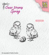 Motiv-stempel Clear-stamp Küken chicken Easter egg Ostern Nellie Snellen SPCS008