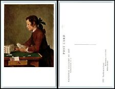 """Vintage ART Postcard - """"The House Of Cards"""" by Chardin AB"""