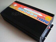 3000W 3000 WATT Peak Real 1500W 1500 Power Inverter Converter 24V DC to 220V AC