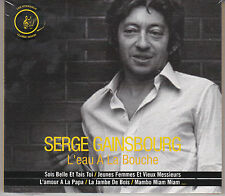 CD DIGIPACK SERGE GAINSBOURG BEST OF 14T (DUO AUFRAY/ARNAUD) NEUF SCELLE