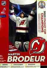 "McFarlane Sports New Jersey Devils Martin Brodeur NHL Hockey 12 "" Box Set New"