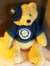 "Adorable~SEATTLE MARINERS~13"" Plush Bear~Very Cute & Cuddly"
