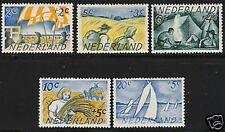 Nederland 513-517  zomerzegels 1949 100% luxe postfris