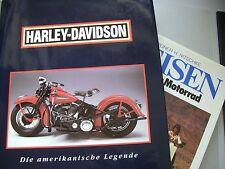 2 Bücher Harley-Davidson amerikanische Legende + Reisen mit dem Motorrad