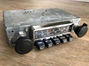 Blaupunkt Frankfurt FM Classic Car Radio VW Split Oval Karmann Porsche ipod MP3