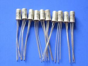 10 x AC176  Germanium Transistor NPN  TUNGSRAM