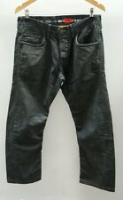 """River Island Nero Jeans Taglia 32"""" dritto < J2461"""