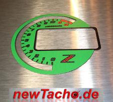 Kawasaki z1000 03-06 discos de tacómetro velocímetro gauge dial Ninja Verde Dial