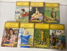 Junior libro clásicos para jóvenes lectores Lote de 7 Pollyanna Heidi Rebecca pinocchi