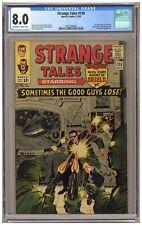 Strange Tales 138 (CGC 8.0) 1st app. Eternity; Dormammu; Ditko; Kirby (j#6390)