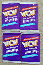 1991 WCW World Championship Wrestling Trading Cards 4 Unopened Packs Impel