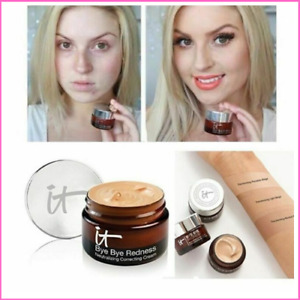 IT Cosmetic BYE BYE Under Redness Face Concealer Cream Make Up Base Long Lasting