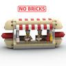 PDF Anleitung Instruction MOC Hot Dog Stand aus Lego Steinen