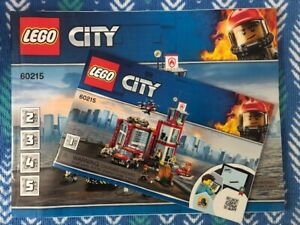 Lego # 60215 - Fire Station - Very cool set