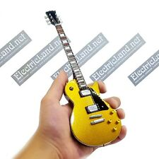 Mini Guitar scale 1:4 JOE BONAMASSA les paul gold miniature gadget collectible