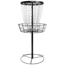 MVP Disc Golf Basket Black Hole Lite Catcher Target