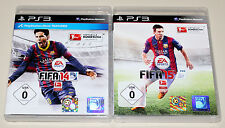 2 PLAYSTATION 3 SPIELE SET - FIFA 14 & FIFA 15 - FUSSBALL SOCCER FOOTBALL PS3 15