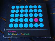 Slip Album: John Foxx And The Maths : Evidence : Sealed