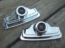 Chrome Spark Plug Head Bolt Cover Set for Sportster 1986 - 2003 Harley Davidson