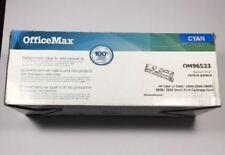 OfficeMax (REMANUFACTURED) CYAN Toner Cartridge OM96533 FOR HP COLOR LJ