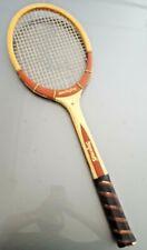Vintage Spalding Match Play 4 5/8 Tennis Racquet Racket Belgium All White Ashbow
