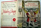 Francis Hackett THE PERSONAL HISTORY OF HENRY THE EIGHTH Modrn Library 1st Ed DJ