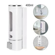 BATHROOM SHOWER SOAP SHAMPOO GEL DISPENSER PUMP WALL MOUNTED 400ML/800ML