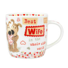 Boofle Best Wife In The World China Mug In Gift Box Christmas Birthday Gifts