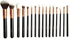 Makeup Brushes Set 16 Rose gold Powder Cheek Eye shadow Brow Cosmetic Tool Kit