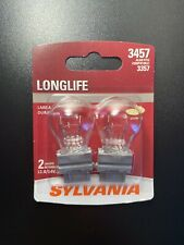 Sylvania 3457 LongLife Turn Signal Bulbs 2 Miniature Lamps 3357 New SHIPS FREE