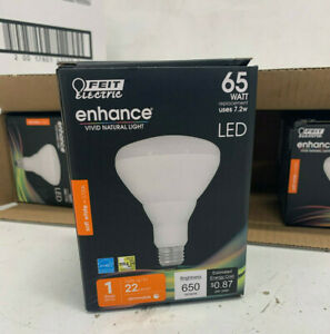 Feit Electric Enhance LED 65W Dimmable Soft White Bulbs 12 Pack New/Open Box