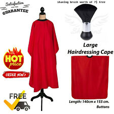 Professional Salon Hair Cutting Barber Cape Hairdresser Apron Styling Gown/Brush