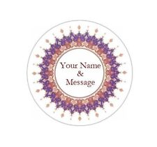 "1.67"" PERSONALIZED CUSTOM STICKERS LABELS BABY SHOWER WEDDING GRADUATION #4P"
