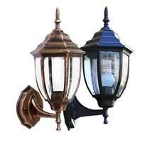 Rustikale Außenwandleuchte Aussenlampen Sensorleuchten Hof