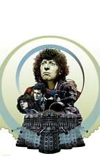 Doctor Who | Fan Art | Tom Baker | Genesis of the Daleks | 17 x 11 Digital Print