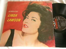 Introducing LINDA LAWSON Jack Sheldon Frank Rosolino Marty Paich STEREO LP VG+++