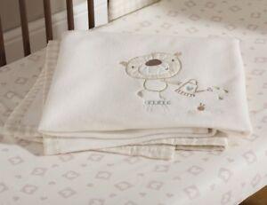 Baby Baxter and Rosie Fleece Blanket Nursery Decoration Accessories Gifts