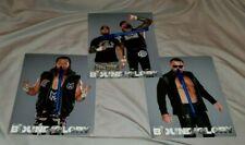 IMPACT Wrestling Lot of 3 BFG 8x10 photos - GOOD BROTHERS * HEATH * BRIAN MYERS