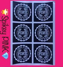 NEW Victoria's Secret PINK 🌟LOGO Stickers💎(1) Sheet 6PCS 4 X 4CM